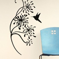 Bird + Twig Decal