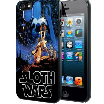 Sloth Wars Samsung Galaxy S3 S4 S5 S6 S6 Edge (Mini) Note 2 4 , LG G2 G3, HTC One X S M7 M8 M9 ,Sony Experia Z1 Z2 Case
