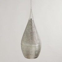Punched Metal Pendant
