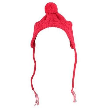 Worthy Dog Toboggan Dog Hat - Red