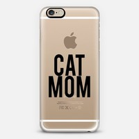 Cat Mom (Transparent) iPhone 6s case by Sushi & Queso Designs | Casetify