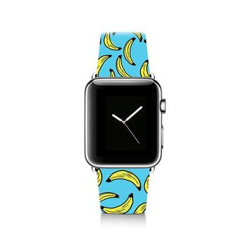 Banana Design Apple Watch Band iWatch Genuine Leather Strap 38mm 42mm