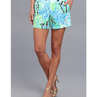 Lilly Pulitzer Callahan Short Spa Blue Lets Cha Cha - Zappos.com Free Shipping BOTH Ways