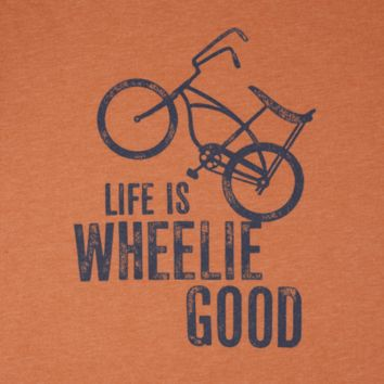 Men's Wheelie Bike Cool Tee