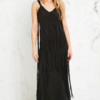 Denim & Supply Ralph Lauren Macrame Maxi Dress - Urban Outfitters
