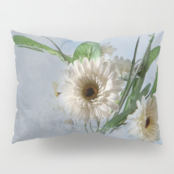 Wildflower Still LIFE Pillow Sham by Theresa Campbell D'August Art