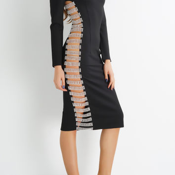 Sanyae Sydney Dress - Black