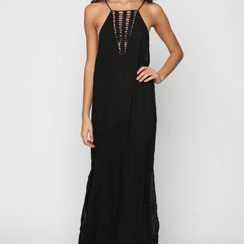 Makawao Maxi Dress in Storm