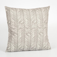 Scandinavian Style Square Pillow Cover 18x18. Gray Cushion. Gray Throw Pillow 18x18. Gray Home Decor. Gray Decorative Pillow for Sofa
