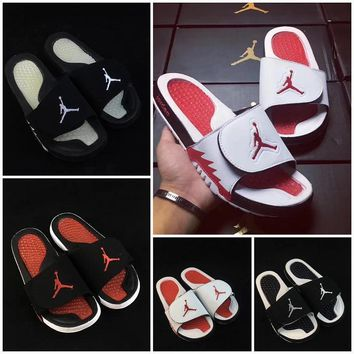 Nike Air Jordan 5 Men flip flop sandal 4 Colors