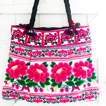 Jinhua Hmong Embroidered Tote