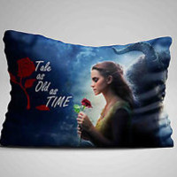 "Hot Best Beauty and The Beast Quote Design Pillow Case 16""x24"" Limited Edition"