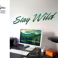 Stay Wild - Surface Collective | Premium Wall Graphics