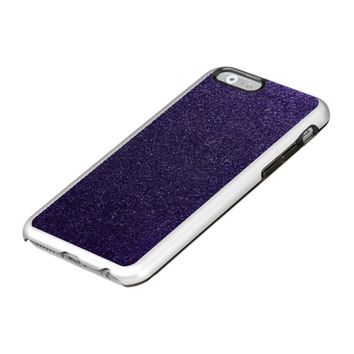 Cool Awesome Purple Glitter Incipio Feather® Shine iPhone 6 Case