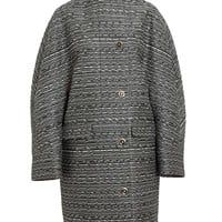 BALENCIAGA | Cristobal Classic Wool Tweed Coat | Browns fashion & designer clothes & clothing