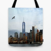 New York Tote Bag by Haroulita | Society6