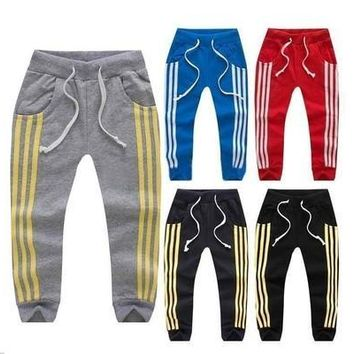 Kids Boys Girls Joggers Jogging Bottom Pants Tracksuit Clothing Clothes Age 1-6Y [9305777607]