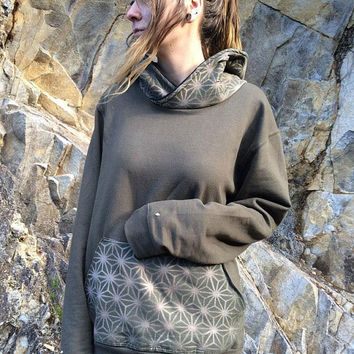 sacred-geometry-hoodie-pullover-hippie-psychedelic-clothing-goa-studs-handmade-crossneck-psy-street-skater-snowboard-steam