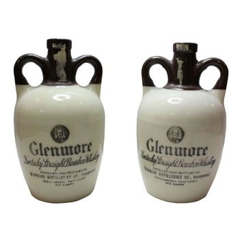 Pre-owned Vintage 1947 Glenmore Whiskey Jugs - A Pair