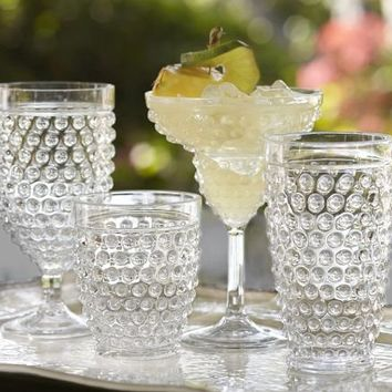 Hobnail Outdoor Drinkware, Set of 6