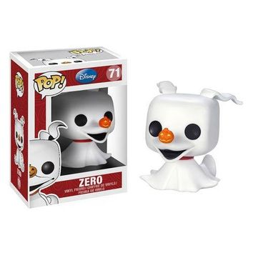 Nightmare Before Christmas Zero Ghost Dog Pop! Vinyl Figure