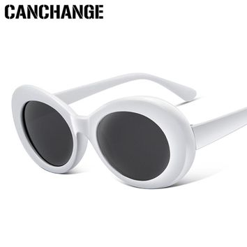 Clout Goggles Retro Sunglasses Men Female Male Round SunGlasses
