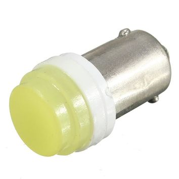 Lowest Price 2W BA9S T4W Ceramic 1 COB 2W Pure White LED Car License Plate Light Bulb Door Lamp DC12V
