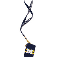University of Michigan Lanyard - PINK - Victoria's Secret