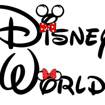 Custom Personalized Disney Disney World Iron on Transfer Decal(iron on transfer, not digital download)