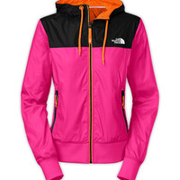 WOMEN'S BLUEWIND FULL ZIP WIND HOODIE