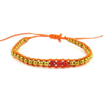 2nd Chakra Bracelet - Orange - Global Groove (J)
