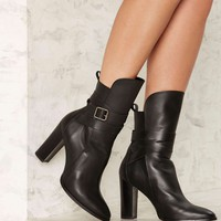 Shellys London Deandra Belted Leather Boot
