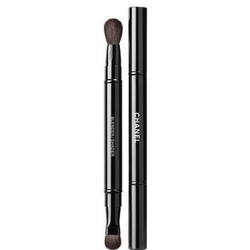 PINCEAU DUO PAUPIÈRES RÉTRACTABLE RETRACTABLE DUAL-TIP EYESHADOW BRUSH | Chanel