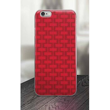 65 MCMLXV Red Brick Wall Print iPhone Case