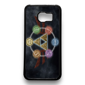 Zelda Triforce Element Samsung Galaxy S6 Case