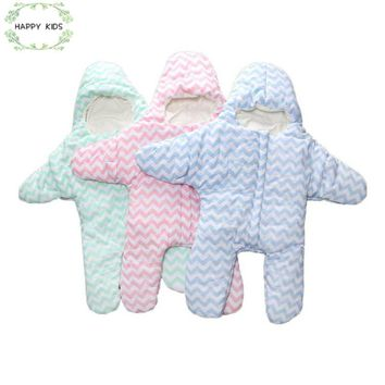 DLY097 2017 Baby sleeping bags winter as stars for newborn cocoon wrap sleepsack,sleeping bag baby as blanket & swaddling