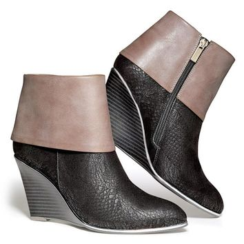 mark. Cuff Chic Booties