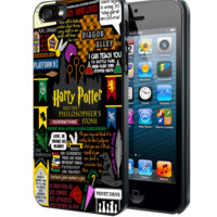 Harry potter art D Samsung Galaxy S3 S4 S5 S6 S6 Edge (Mini) Note 2 4 , LG G2 G3, HTC One X S M7 M8 M9 ,Sony Experia Z1 Z2 Case