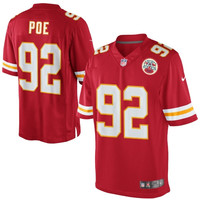 Dontari Poe Kansas City Chiefs Nike Team Color Limited Jersey - Red