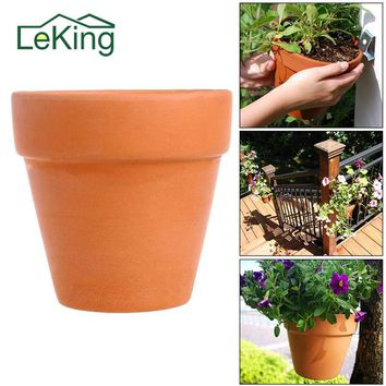 Red Pottery Terracotta Flower Pot High-quality Low-temperature International Ceramic Succulent Plant Universal Pots