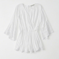 Womens Lace Romper | Womens Dresses & Rompers | Abercrombie.com