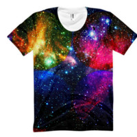 Running With Four Suns || Magnifying Light || Women's sublimation t-shirt - God Sol