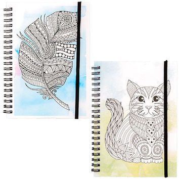 Bulk Color-Your-Own Mini Composition Notebooks at DollarTree.com
