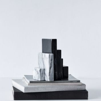 Bookend Sculpture Set