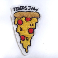 Tigers Jaw Pizza Patch