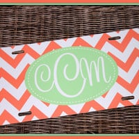 Personalized Monogrammed License Plate Car Tag, Monogram License Plate, Personalized License Plate, Monogram Car Tag