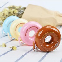 Kawaii Donuts Correction Tape Novelty candy color decorative corrective tapes Korean stationery material office school supplies