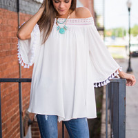 The Festival Scenarios Blouse, White