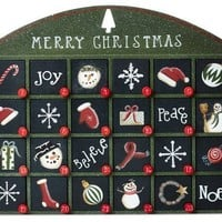 "17"" Christmas Advent Calendar"