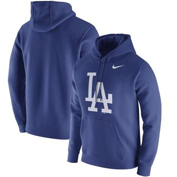 Men's Los Angeles Dodgers Nike Royal Club Hoodie